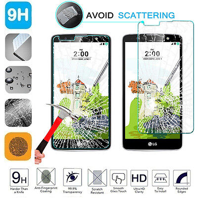 100% Genuine Gorilla Tempered Glass Film Screen Protector For LG