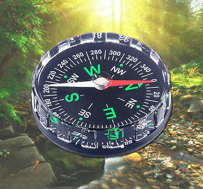 Liquid Pocket Survival Outdoor Button New Hiking Compass Camping  Filled