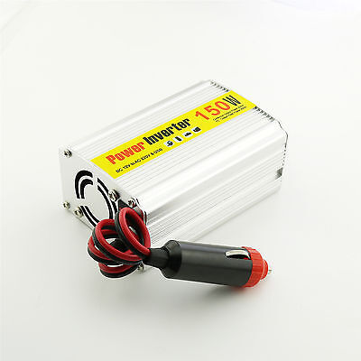 1x 150W Portable Car Power Inverter Adapter Charger Converter DC 12V to AC 220V