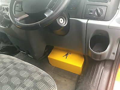 Ford Transit Mk7 security pedal lock clamp device 2006-2014