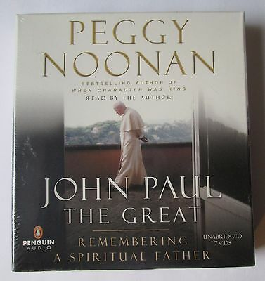 NEW: John Paul the Great by Peggy Noonan (Audiobook on CD, 2005) Penguin