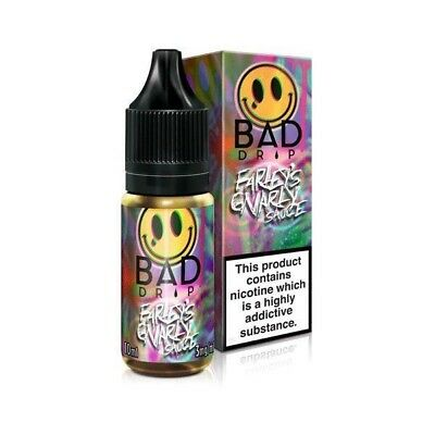 Farley's Gnarly Sauce vape liquid by Bad Drip - 10ml, 30ml