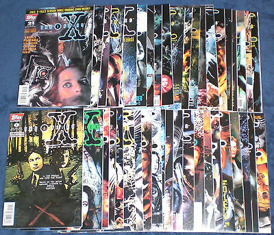 X-Files Topps Comics Issues 0-37, 39, PLUS Annual 1 & 2 1995 Lot