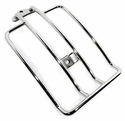 Luggage Rack Chrome - For Softail 2006 Up 200 Series Rear Wheel