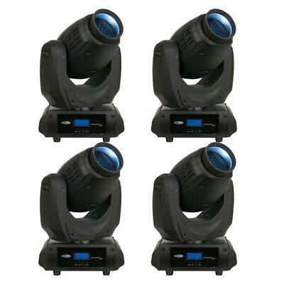 4x SHOWTEC Phantom 30 LED Beam Set LED Moving Head Licht Set