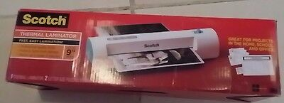Scotch 3M Thermal Laminator TL901C-T New with pouches