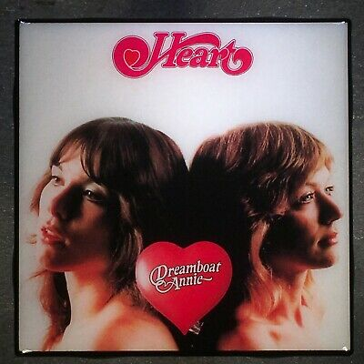 HEART Dreamboat Annie Coaster Record Cover Ceramic Tile