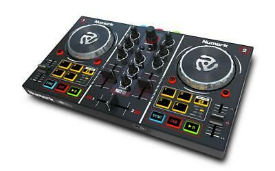 Numark Party Mix + LED Lichtschow DJ Midi Software Controller Mixer + Software