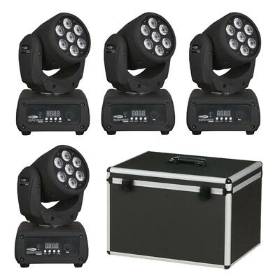 Showtec Kanjo Wash RGB LED Licht Set Moving Head