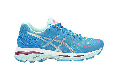 Asics Women's Gel-Kayano 23 (Diva Blue/Silver/Aqua Splash, Size 9)