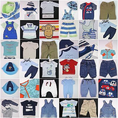 Boys Build a Bundle Trousers Shorts T-Shirts Bodysuits Babygrows Newborn 1 Mth