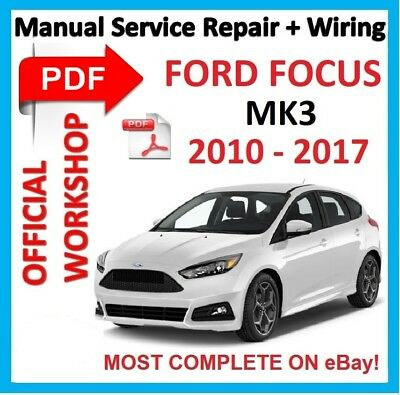 official workshop manual service repair for ford focus mk3 2010 rh picclick fr ford focus service manual 2007 ford focus service manual pdf download