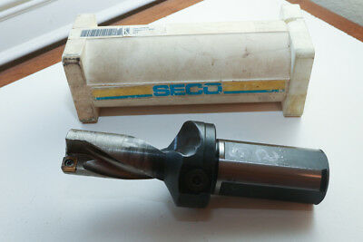 """SECO SD50 1250-250-1500R Indexable  Drill 1.250"""" 1-1/4"""" Coolant Flow Thru"""