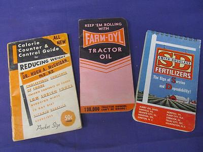 Lot Vintage Advertising Booklet Farm Seed FARM-OYL SD FERTILIZERS Note Pad (C71)