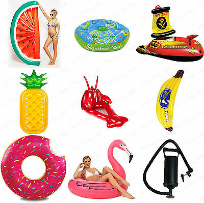 Summer Outdoor Swimming Pool Inflatable Floatie Lounge Pool Loungers Adults&Kid