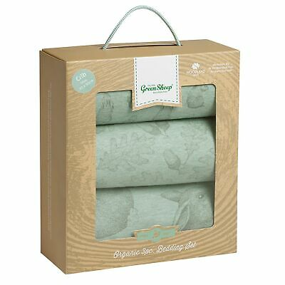 The Little Green Sheep Wild Cotton Organic Bedding - 3 Piece Set