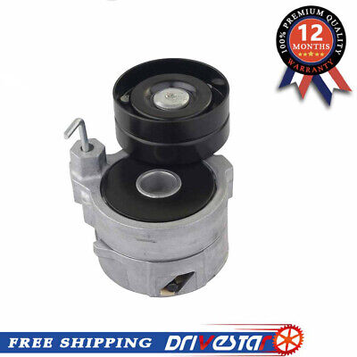 DRIVESTAR OE-Quality New Belt Tensioner with Pulley for Ford F150 F250 F350 E350 Econoline