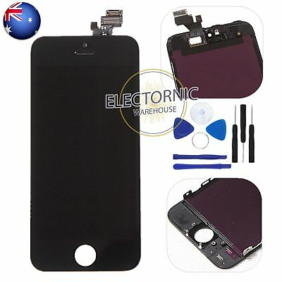 For iPhone 5 5G LCD Display Digitizer Touch Screen Glass Assembly Replacement AU