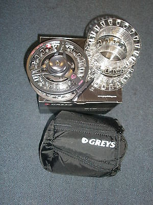 Greys GTS700 #7-9 Fly Reel + 2 Spare Spools Fishing tackle