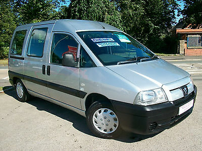 Peugeot Expert 1.9 Diesel Wheelchair adapted Constables Mobility Conversion MPV