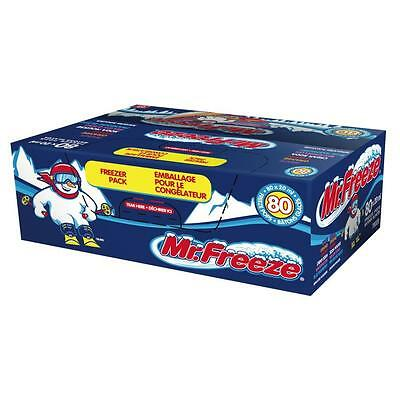 Mr. Freeze Ice Pops, 20ml/0.67 Ounces - 80 Pack CASE Canadian from Canada