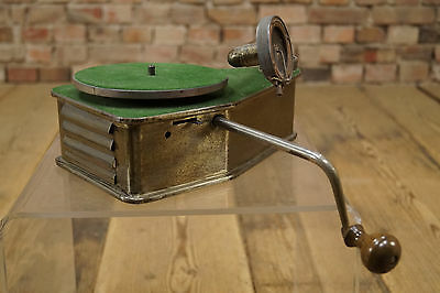 Vintage Grammophon Phonograph Trichtergrammophon SUPERB Made in Germany