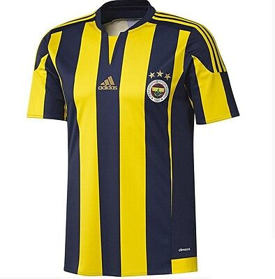 adidas Fenerbahce Kids Home Football Shirt - Navy/Yellow - BNWT