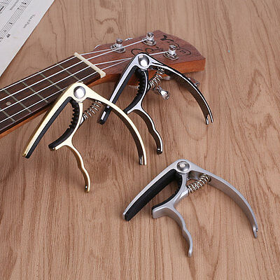 Electric Acoustic Guitar Ukulele Capo Clamp Quick Trigger Fast Release