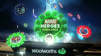 Woolworths Marvel Discs - No Rares