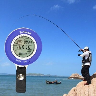 Multi-function LCD Digital Outdoor Fishing Barometer Altimeter Thermometer DP