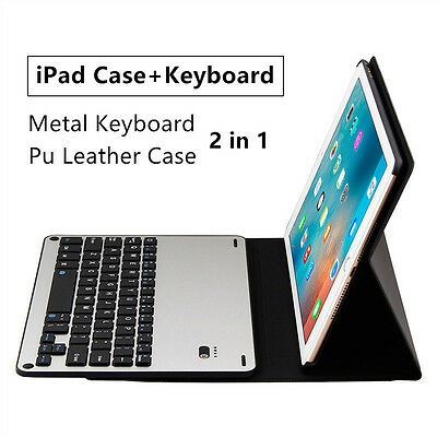 2 in 1 Wireless Bluetooth Abnehmbar Tastatur iPad air Tasche Keyboard Cover Case