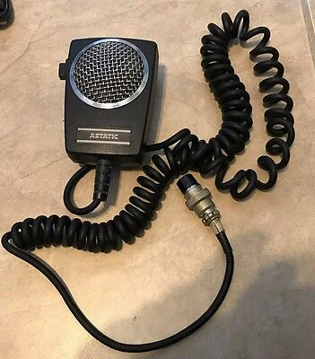 Astatic D104-M6B 5-PIN Microphone for Ham Radio Tranceivers in great shape