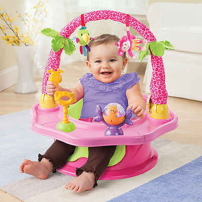 Summer Infant 3 Stage Super Seat Island Giggles, New Baby Feeding Essentials