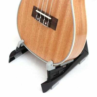 Aroma Environmenatl Foldable ABS Ukulele Guitar Holder Rack Anti-Slip Base DP