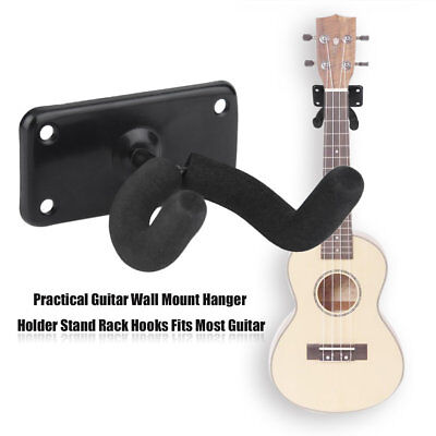 Practical Guitar Wall Mount Hanger Holder Stand Rack Hooks Fits Most Guitar DP