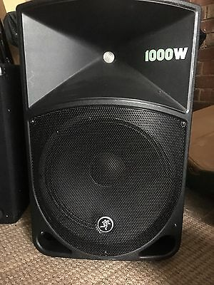 mackie thump 12 th 12a 12 powered 1000w active pa loudspeaker and 3 band eq picclick uk. Black Bedroom Furniture Sets. Home Design Ideas
