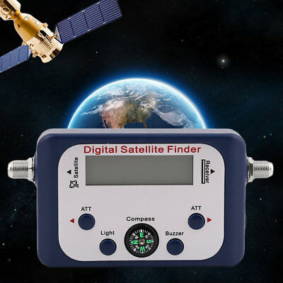 GSF-9506 LCD Screen Display Universal TV Satellite Finder Signal Tester DP