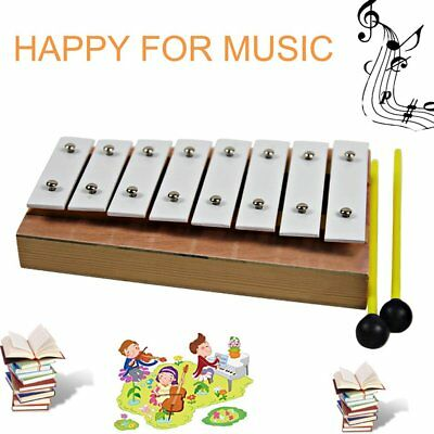 TL8A Musical Teaching Aid Kids 8 Notes Wooden Xylophone Music Instrument DP