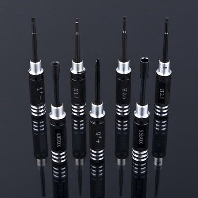 7pcs Black Hex Screw Driver Tool Kit 1.5MM-5.5MM for RC Helicopter Plane Car DP