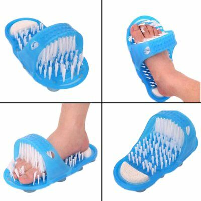 Foot Feet Cleaner Scrubber Washer Foot Health Care Stone Massager Slipper DP