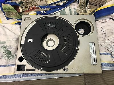 Technics SL1200 Mk2 Main Plate, Pcb Cover , Weight And Rubber Base