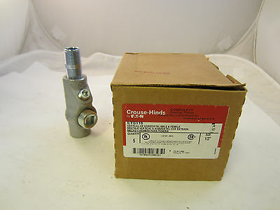 """Crouse Hinds Eys116   1/2"""" Explosion Proof Universal Seal Off  Eys11 Eyf50"""