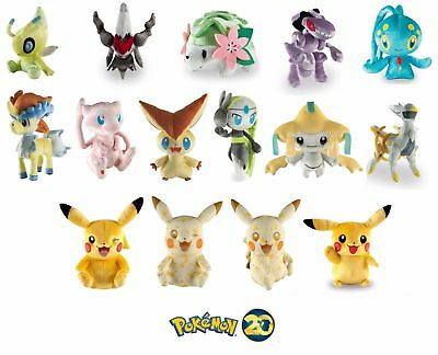 Pokémon 20th Anniversary ALLE plüsch/plush Limited Edition Special NEU&OVP BOXED
