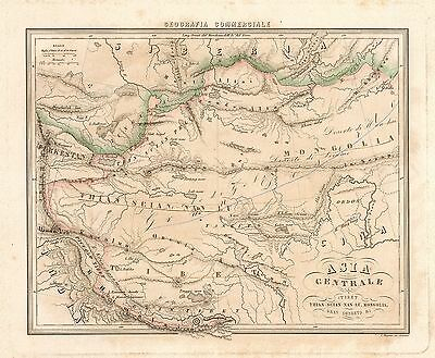 1858 Map of Central Asia