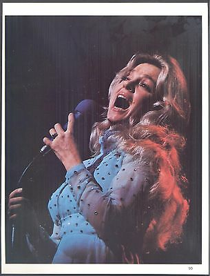 Connie Smith, Grand Ole Opry Star in 1982 Magazine Clipping, With Claude Akins