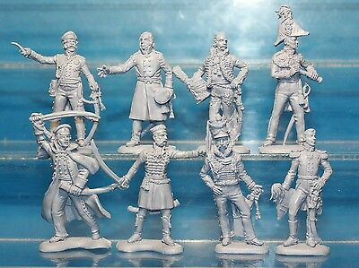 Plastic Toy Soldiers Napoleonic Wars Prussian General Staff NEW!!! 1/32 54 mm