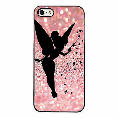 Tinkerbell silhouette plastic phone case for iPhone 5 6 7