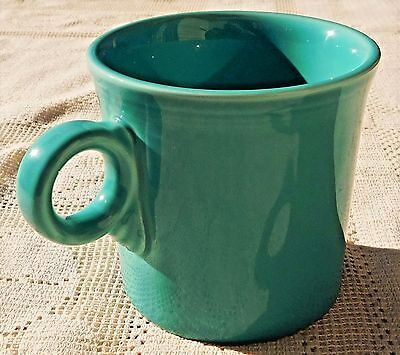 Vintage 1986-92 Homer Laughlin Fiesta Ware Turquoise Coffee Or Tea Cup