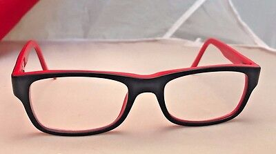 47dccb61cf Authentic Ray Ban RB 5268 5180 Grey Red 48mm Frames Eyeglasses RX mint jr  size