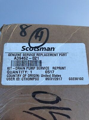 A39462-021   12-2503-21 Scotsman Drain Pump Kit
